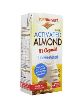 Pureharvest Almond Milk Unsweteened 1l by Pureharvest
