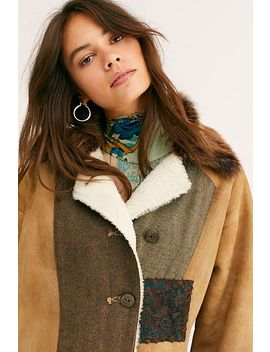 Country Cabin Coat by Brenda Knight For Free People