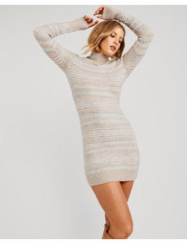 Mock Neck Sweater Dress by Abercrombie & Fitch