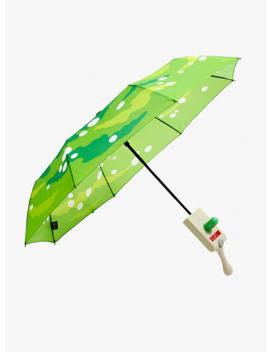 Rick And Morty Portal Gun Umbrella by Hot Topic
