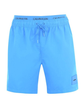 Calvin Patch Logo Swim Shorts by Calvin Klein