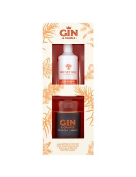 Whitley Neill Blood Orange Gin & Candle Gift Set by B&M