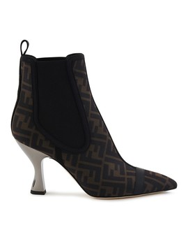 Ff Heeled Boots by Fendi