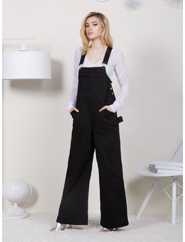 Black Rock Overalls by Eggie