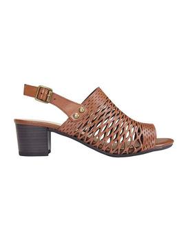Denise Cognac Glove Sandal by Easy Steps