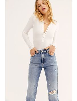 Dakota Straight Leg Jean by We The Free
