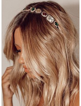 Bejewelled Head Band by Princess Polly