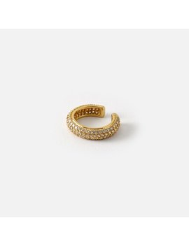 Luxe Domed Pave Ear Cuff by Orelia