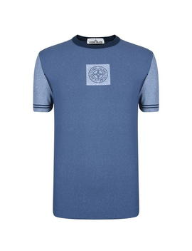 Chalk Short Sleeve T Shirt by Stone Island