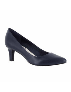 Easy Street Womens Pointe Pumps Pointed Toe Spike Heel by Easy Street
