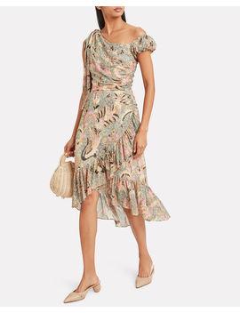 Uma Birds Of Paradise Voile Dress by Ulla Johnson