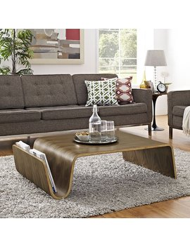 Matz Coffee Table With Magazine Rack by George Oliver