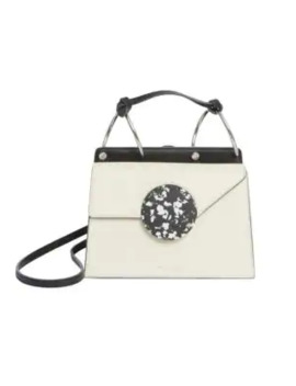 Phoebe Bis Accordion Leather Bag by Danse Lente