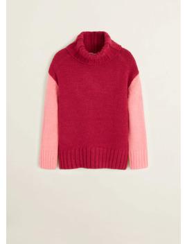 Pullover Maglia Tricolore by Mango