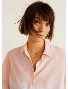 Camicia Tie Dye Crop by Mango
