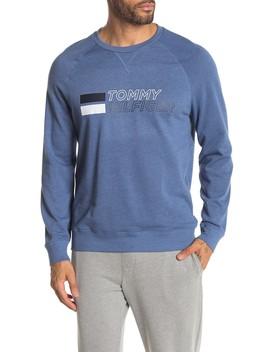 Logo Print Fleece Lined Sweatshirt by Tommy Hilfiger