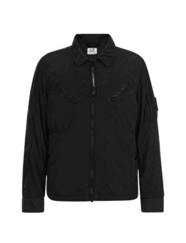 Junior Boys Lens Overshirt Jacket by Cp Company