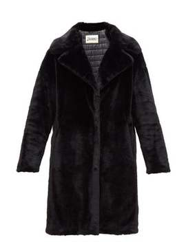 Padded Faux Fur Coat by Herno