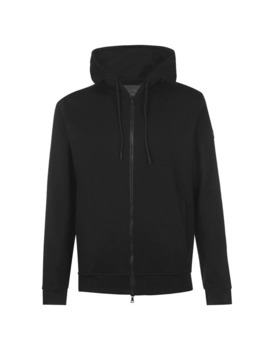 Patch Zip Through Hoodie by Paul And Shark