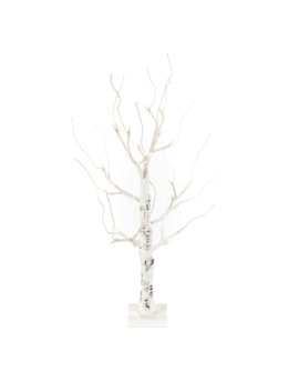 24 In. Birch Led Lighted Tree by Unbranded