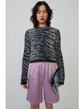 Tiger Print Sweater Grey/Multi by Acne Studios