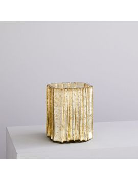 Decorator Mercury Hurricanes, Medium, Light Gold by West Elm