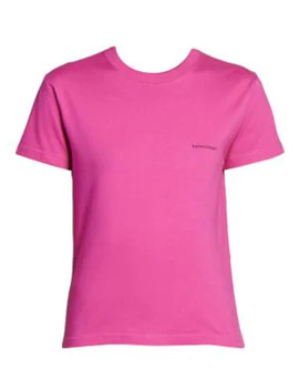 Copyright Fitted T Shirt by Balenciaga