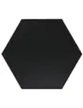 Bedrosians Anthologie 20 Pack Black 8 In X 9 In Porcelain Tile (Common: 8 In X 9 In; Actual: 9 In X 7.88 In) by Lowe's