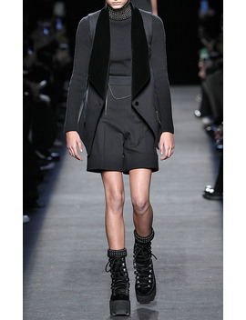 Silk Cashmere Studded Turtleneck by Alexander Wang