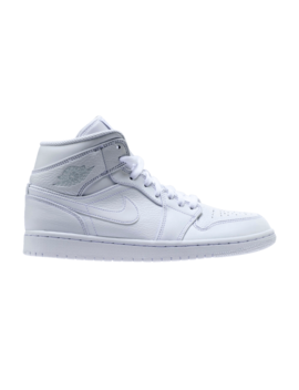 Air Jordan 1 Mid 'triple White' by Brand Air Jordan