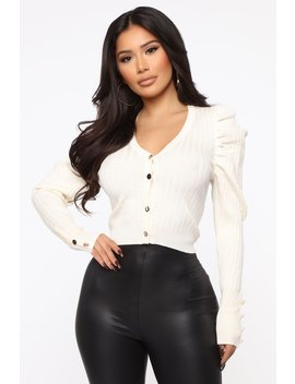 High Class Sweater   Ivory by Fashion Nova