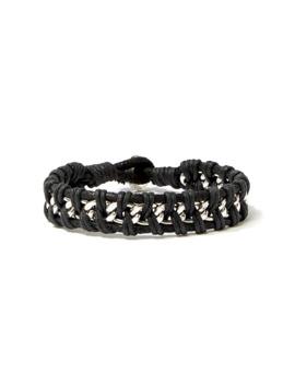 Men Roped Chain Bracelet by Forever 21