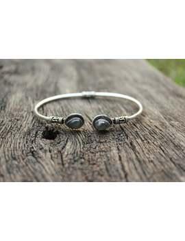 Labradorite Hand Cuff,Silver Boho Bracelet,Gypsy Bracelet,Adjustable Bracelet,Labradorite Bracelet,Tribal Bracelet,Ethnic Bracelet,Hand Cuff by Etsy
