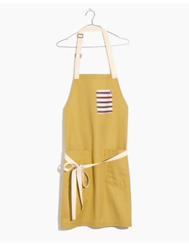 Madewell X Hedley & Bennett Striped Pocket Apron by Madewell