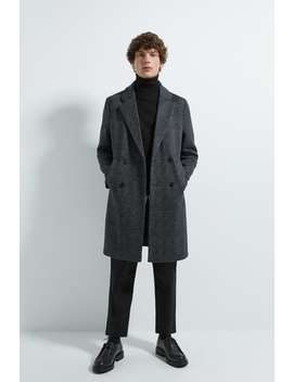 Mantel Mit Strukturmuster – Comfort Knit by Zara