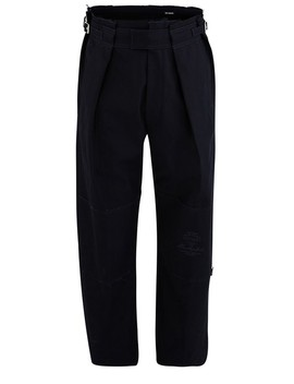 Wide Trousers With Patches by Raf Simons