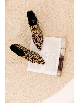 Portia Cheetah Ankle Booties by Luca And Grae