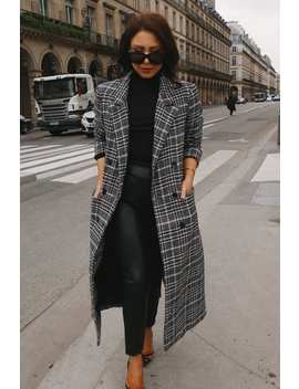 Lorna Luxe Black 'parisienne' The Perfect Coat by In The Style