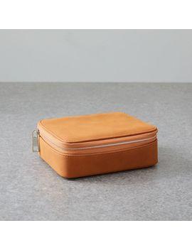 Ecotech Luggage   Vegan Leather Jewelry Box by West Elm