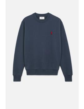 Ami De Coeur Crewneck Sweatshirt by Ami Paris