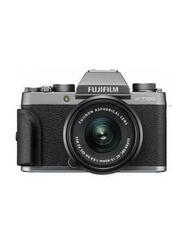 Fujifilm X T100 24.3 Mp 15 45mm Compact System Camera  Silver862/1285 by Argos