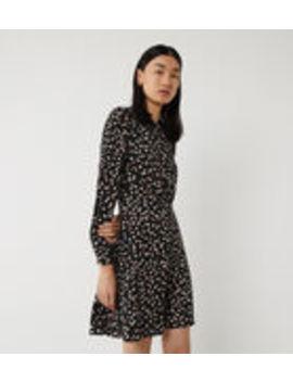 Petal Print Mini Dress by Warehouse