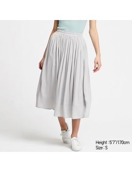 Women Gather Skirt by Uniqlo