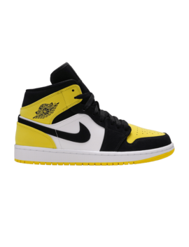 Air Jordan 1 Mid Se 'yellow Toe' by Brand Air Jordan