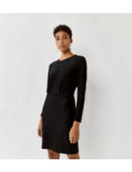 Crocodile Texture Mini Dress by Warehouse