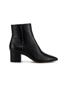 Bel Bootie In Onyx Leather by Dolce Vita