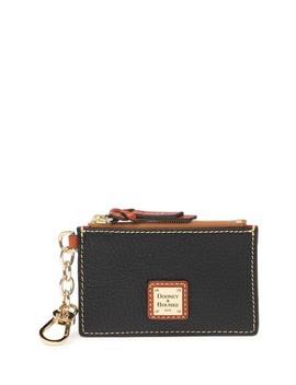 Zip Top Leather Card Case by Dooney & Bourke