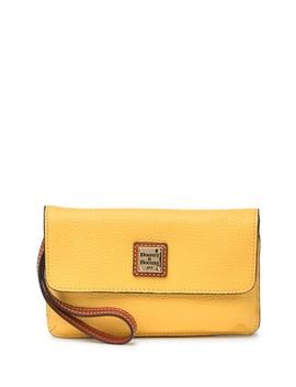 Milly Leather Wristlet by Dooney & Bourke