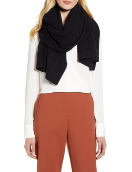 Cable Cashmere Scarf by Halogen