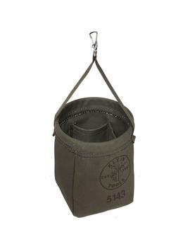 6.5 In. Canvas Tapered Bottom Tool Bag by Klein Tools
